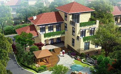 景观设计工程公司-别墅庭院设计